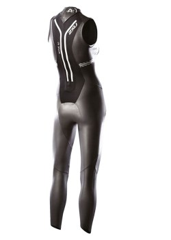 A1 sleavless wetsuit woman back5