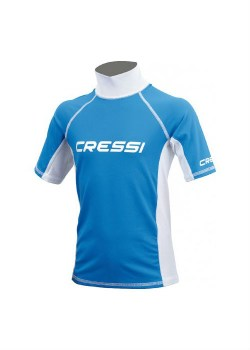CRESSI SHORT SLEEVE RASH GUARD Junior