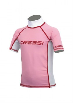 CRESSI SHORT SLEEVE RASH GUARD girl