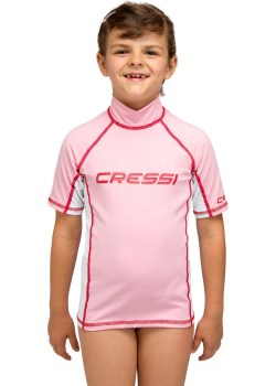 CRESSI SHORT SLEEVE RASH GUARD girl 2