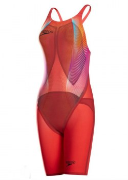 Speedo Lzr2 obck red front