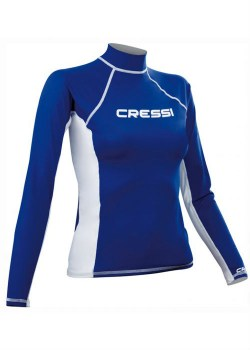 CRESSI LONG SLEEVE RASH GUARD donna 1