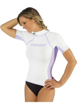 CRESSI SHORT SLEEVE RASH GUARD donna2